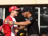 GP BAHRAIN, 16.04.2015 - Sebastian Vettel (GER) Ferrari SF15-T e Lewis Hamilton (GBR) Mercedes AMG F1 W06