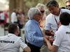 GP BAHRAIN, 16.04.2015 - Bernie Ecclestone (GBR), President e CEO of FOM e Pasquale Lattuneddu (ITA), FOM