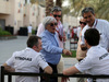 GP BAHRAIN, 16.04.2015 - (L-R) Paddy Lowe (GBR) Mercedes AMG F1 Executive Director, Bernie Ecclestone (GBR), President e CEO of FOM e Toto Wolff (GER) Mercedes AMG F1 Shareholder e Executive Director
