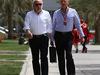 GP BAHRAIN, 18.04.2015 - David Richards e Ron Dennis (GBR) McLaren Executive Chairman
