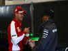 GP BELGIO, 23.08.2015 - Sebastian Vettel (GER) Ferrari SF15-T e Lewis Hamilton (GBR) Mercedes AMG F1 W06