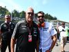 GP BELGIO, 23.08.2015 - Gara, Vijay Mallya (IND), Chairman e Managine Director Force India e Patrick Dempsey (USA) Actor