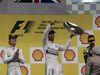 GP BELGIO, 23.08.2015 - Gara, Lewis Hamilton (GBR) Mercedes AMG F1 W06 vincitore