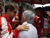 GP BRASILE, 15.11.2015 - Gara, Sebastian Vettel (GER) Ferrari SF15-T e Bernie Ecclestone (GBR), President e CEO of FOM