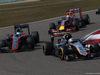 GP CINA, 12.04.2015 - Gara, Sergio Perez (MEX) Sahara Force India F1 VJM08 davanti a Fernando Alonso (ESP) McLaren Honda MP4-30