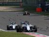 GP CINA, 12.04.2015 - Gara, Valtteri Bottas (FIN) Williams F1 Team FW37 davanti a Felipe Massa (BRA) Williams F1 Team FW37