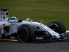 GP GIAPPONE, 27.09.2015 - Gara, Felipe Massa (BRA) Williams F1 Team FW37 with a puncture