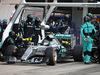 GP GIAPPONE, 27.09.2015 - Gara, Pit stop, Nico Rosberg (GER) Mercedes AMG F1 W06