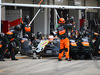 GP GIAPPONE, 27.09.2015 - Gara, Pit stop, Nico Hulkenberg (GER) Sahara Force India F1 VJM08