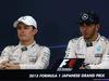 GP GIAPPONE, 27.09.2015 - Gara, Conferenza Stampa, Nico Rosberg (GER) Mercedes AMG F1 W06 e Lewis Hamilton (GBR) Mercedes AMG F1 W06