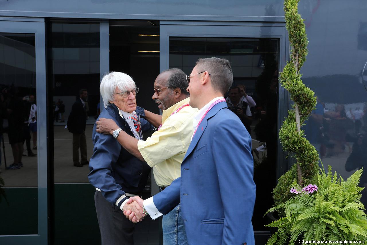 GP GRAN BRETAGNA, 05.07.2015 - Bernie Ecclestone (GBR), President e CEO of FOM