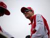 GP GRAN BRETAGNA, 05.07.2015 - Kimi Raikkonen (FIN) Ferrari SF15-T e Sebastian Vettel (GER) Ferrari SF15-T at drivers parade
