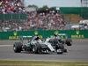GP GRAN BRETAGNA, 05.07.2015- Gara, Lewis Hamilton (GBR) Mercedes AMG F1 W06 e Nico Rosberg (GER) Mercedes AMG F1 W06