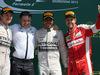 GP GRAN BRETAGNA, 05.07.2015- Gara, 1st position Lewis Hamilton (GBR) Mercedes AMG F1 W06, secondo Nico Rosberg (GER) Mercedes AMG F1 W06 e terzo Sebastian Vettel (GER) Ferrari SF15-T