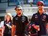 GP ITALIA, 06.09.2015 - Sergio Perez (MEX) Sahara Force India F1 VJM08 e Daniel Ricciardo (AUS) Red Bull Racing RB11