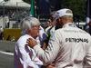 GP ITALIA, 06.09.2015 - Gara, Bernie Ecclestone (GBR), President e CEO of FOM e Lewis Hamilton (GBR) Mercedes AMG F1 W06