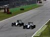 GP ITALIA, 06.09.2015 - Gara, Nico Rosberg (GER) Mercedes AMG F1 W06 e Valtteri Bottas (FIN) Williams F1 Team FW37