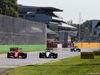GP ITALIA, 06.09.2015 - Gara, Kimi Raikkonen (FIN) Ferrari SF15-T e Nico Hulkenberg (GER) Sahara Force India F1 VJM08