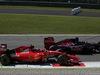 GP ITALIA, 06.09.2015 - Gara, Kimi Raikkonen (FIN) Ferrari SF15-T e Max Verstappen (NED) Scuderia Toro Rosso STR10