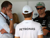 GP MALESIA, 29.03.2015- Nico Rosberg (GER) Mercedes AMG F1 W06 e Nico Hulkenberg (GER) Sahara Force India F1 VJM08