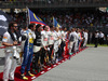 GP MALESIA, 29.03.2015- Gara, The grid observes the national anthem