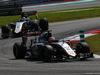 GP MALESIA, 29.03.2015- Gara, Nico Hulkenberg (GER) Sahara Force India F1 VJM08 davanti a Sergio Perez (MEX) Sahara Force India F1 VJM08