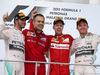 GP MALESIA, 29.03.2015- Gara, 1st position Sebastian Vettel (GER) Ferrari SF15-T, secondo Lewis Hamilton (GBR) Mercedes AMG F1 W06 e terzo Nico Rosberg (GER) Mercedes AMG F1 W06