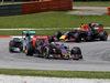GP MALESIA, 29.03.2015- Gara, Carlos Sainz Jr (ESP) Scuderia Toro Rosso STR10 e Nico Rosberg (GER) Mercedes AMG F1 W06