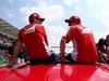 GP MESSICO, 01.11.2015 - Kimi Raikkonen (FIN) Ferrari SF15-T e Sebastian Vettel (GER) Ferrari SF15-T
