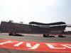 GP MESSICO, 01.11.2015 - Gara, Carlos Sainz Jr (ESP) Scuderia Toro Rosso STR10 e Nico Hulkenberg (GER) Sahara Force India F1 VJM08