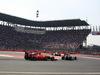 GP MESSICO, 01.11.2015 - Gara, Kimi Raikkonen (FIN) Ferrari SF15-T e Felipe Nasr (BRA) Sauber C34