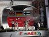 GP MESSICO, 01.11.2015 - Gara, 1st position Nico Rosberg (GER) Mercedes AMG F1 W06, 2à Lewis Hamilton (GBR) Mercedes AMG F1 W06 e terzo Valtteri Bottas (FIN) Williams F1 Team FW37