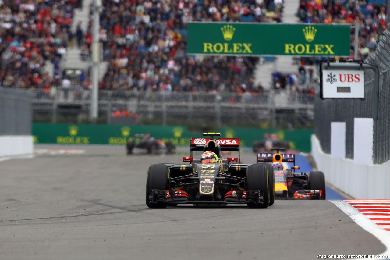 GP RUSSIA, 11.10.2015 - Gara, Pastor Maldonado (VEN) Lotus F1 Team E23