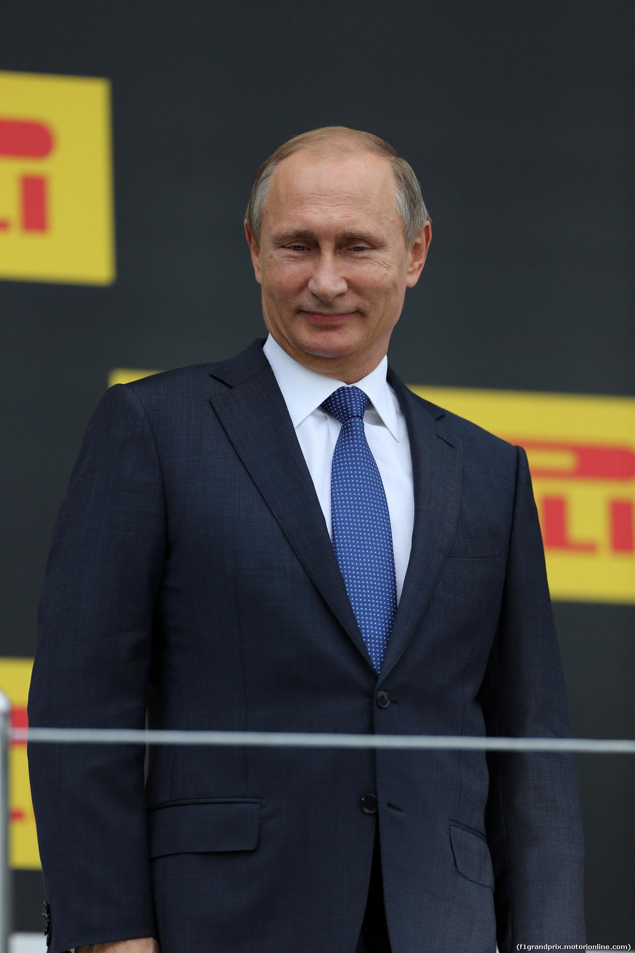 GP RUSSIA, 11.10.2015 - Gara, Vladimir Putin (RUS) Russian Federation President