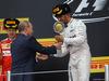 GP RUSSIA, 11.10.2015 - Gara, Vladimir Putin (RUS) Russian Federation President e Lewis Hamilton (GBR) Mercedes AMG F1 W06 vincitore