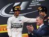GP RUSSIA, 11.10.2015 - Gara, Lewis Hamilton (GBR) Mercedes AMG F1 W06 vincitore e terzo Sebastian Vettel (GER) Ferrari SF15-T with Dmitry Kozak (RUS) Russian Deputy Prime Minister