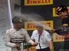 GP RUSSIA, 11.10.2015 - Gara, Lewis Hamilton (GBR) Mercedes AMG F1 W06 vincitore e terzo Sebastian Vettel (GER) Ferrari SF15-T