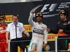 GP RUSSIA, 11.10.2015 - Gara, 1st position Lewis Hamilton (GBR) Mercedes AMG F1 W06, secondo Sebastian Vettel (GER) Ferrari SF15-T e terzo Sergio Perez (MEX) Sahara Force India F1 VJM08