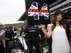 GP RUSSIA, 11.10.2015 - Gara, Lewis Hamilton (GBR) Mercedes AMG F1 W06 e griglia Ragazza