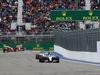GP RUSSIA, 11.10.2015 - Gara, Lewis Hamilton (GBR) Mercedes AMG F1 W06 davanti a Valtteri Bottas (FIN) Williams F1 Team FW37