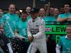 GP RUSSIA, 11.10.2015 - Gara, Festeggiamenti, Lewis Hamilton (GBR) Mercedes AMG F1 W06 vincitore
