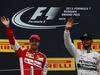 GP RUSSIA, 11.10.2015 - Gara, secondo Sebastian Vettel (GER) Ferrari SF15-T e Lewis Hamilton (GBR) Mercedes AMG F1 W06 vincitore