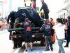 GP RUSSIA, 10.10.2015 - Free Practice 3, The Toro Rosso STR10 of Carlos Sainz Jr (ESP) after the crash.