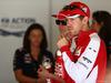 GP SPAGNA, 10.05.2015- Sebastian Vettel (GER) Ferrari SF15-T e Kimi Raikkonen (FIN) Ferrari SF15-T