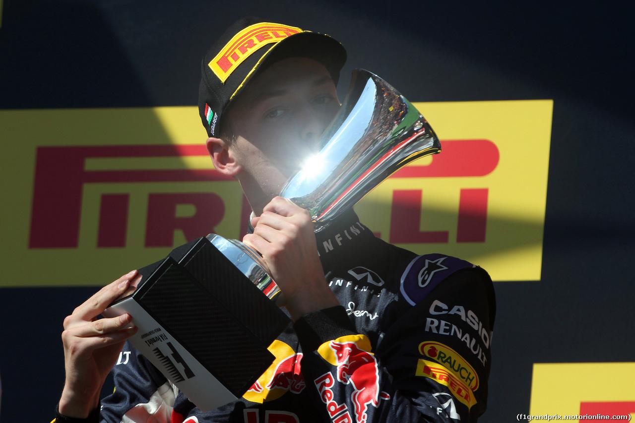 GP UNGHERIA, 26.07.2015 - Gara, secondo Daniil Kvyat (RUS) Red Bull Racing RB11