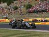 GP UNGHERIA, 26.07.2015 - Gara, Sergio Perez (MEX) Sahara Force India F1 VJM08