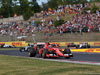 GP UNGHERIA, 26.07.2015 - Gara, Kimi Raikkonen (FIN) Ferrari SF15-T davanti a Nico Rosberg (GER) Mercedes AMG F1 W06