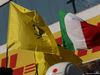 GP UNGHERIA, 26.07.2015 - Gara, Ferrari e Italia flags