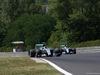 GP UNGHERIA, 25.07.2015 - Free Practice 3, Nico Rosberg (GER) Mercedes AMG F1 W06 e Lewis Hamilton (GBR) Mercedes AMG F1 W06
