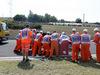GP UNGHERIA, 24.07.2015 - Free Practice 1, Crash, Sergio Perez (MEX) Sahara Force India F1 VJM08